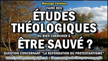 2015 0607 faire des etudes theologiques ou bien chercher a etre sauve miniature1