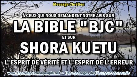 A ceux qui nous demandent notre avis sur la bible bjc et sur shora kuetu miniature1